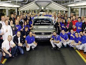 Volkswagen Tiguan 2017 comienza producción