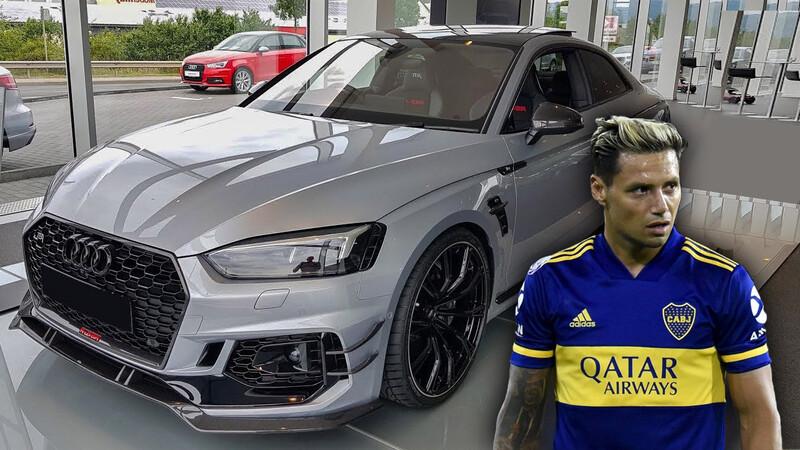Mauro Zárate vende un exclusivo Audi RS5-R tuneado por ABT