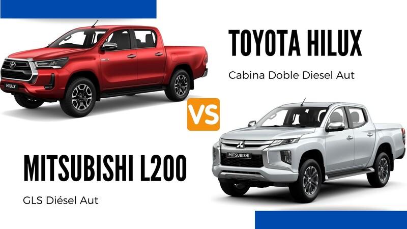 Toyota Hilux vs Mitsubishi L200, pickups automáticas a diésel y 4x4 ¿cuál japonesa es mejor?
