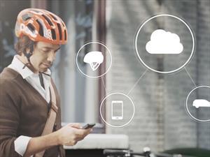 Volvo trabaja en un casco para ciclistas que se podrá comunicar con los autos