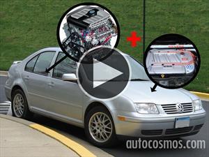 Video: Un Volkswagen Bora de 14 cilindros