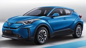 CH-R es el primer auto totalmente eléctrico de Toyota