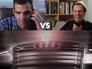 Audi enfrenta a dos Señores Spok en un increíble comercial