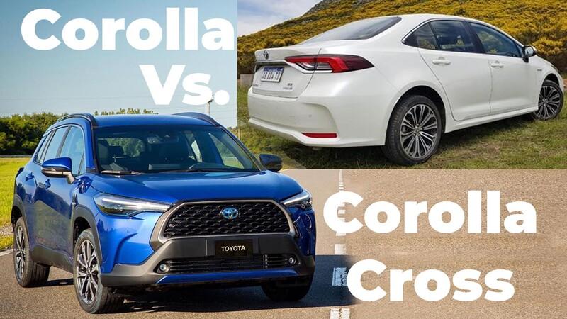 Precios Toyota Corolla Cross Vs Corolla sedán
