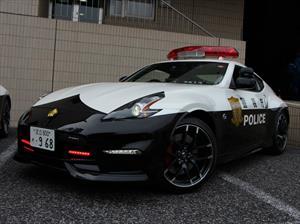 La policía de Tokio usa un Nissan 370Z Nismo como patrullero