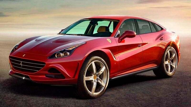 Ferrari Purosangue está en fase de pruebas