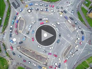 Video: Así funciona la rotonda más compleja del mundo