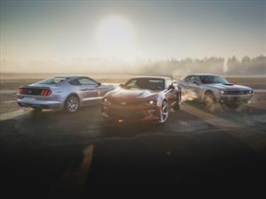 Comparativa: Ford Mustang Vs. Chevrolet Camaro Vs. Dodge Challenger