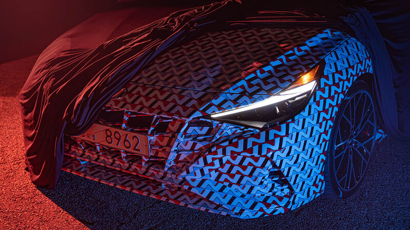 Hyundai Elantra N 2022 comienza a tomar forma en imágenes
