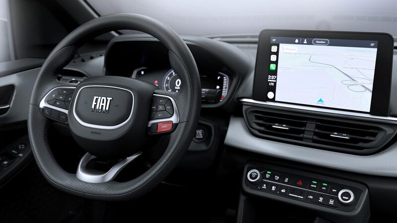 Este es el interior de la nueva FIAT Pulse, la futura competencia de Tracker y Kicks