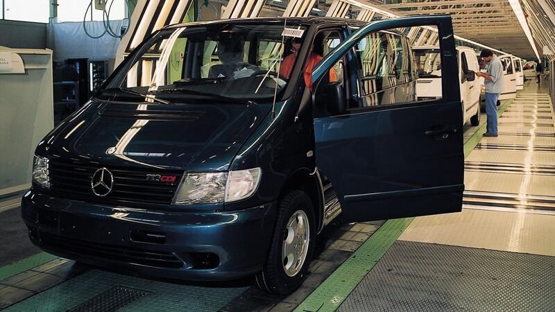 Mercedes-Benz cumple 25 años del inicio de producción del Vito