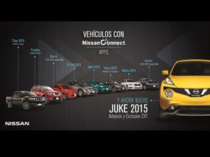 NissanConnect está disponible en los modelos Juke y Titan 2015