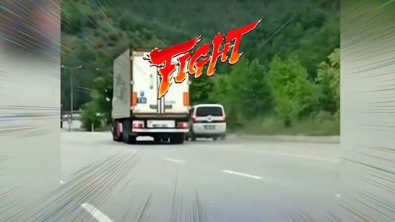 Video: FIAT Qubo pelea contra un camión ¿Quién gana?