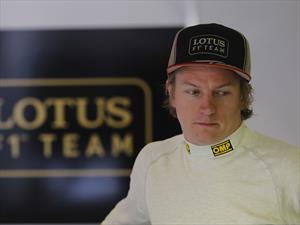 F1: Raikkonen se baja de la temporada