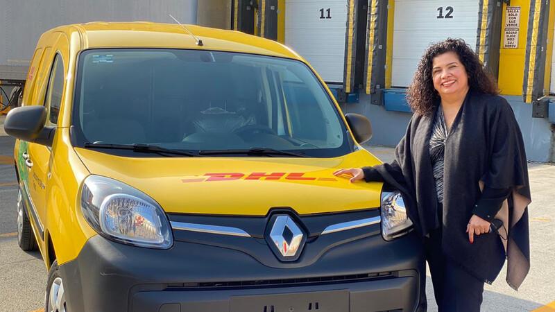 DHL México contará con una nueva flotilla de autos eléctricos pertenecientes a Renault