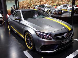 Mercedes-AMG C63 S Coupe Edition 1 se presenta