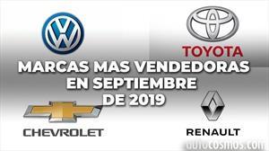 Top 10 Las marcas más vendedoras de Argentina en septiembre de 2019
