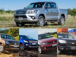 Top 5: Las pick-ups más vendidas de Argentina en febrero de 2016