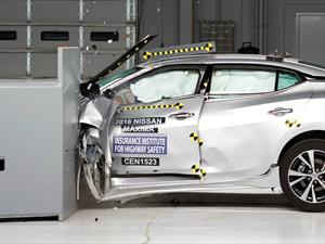 Nissan Maxima 2016 catalogado como Top Safety Pick+ por el IIHS