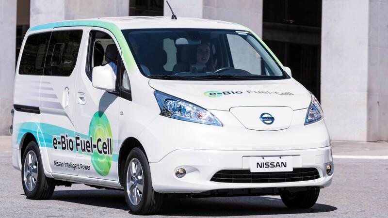 Nissan usa bioetanol para vehículos de pila de combustible