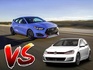 Hyundai Veloster N, ¿nace una rivalidad con el VW Golf GTI?