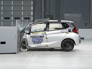 Honda Fit obtiene 5 estrellas en pruebas de choque de la NHTSA