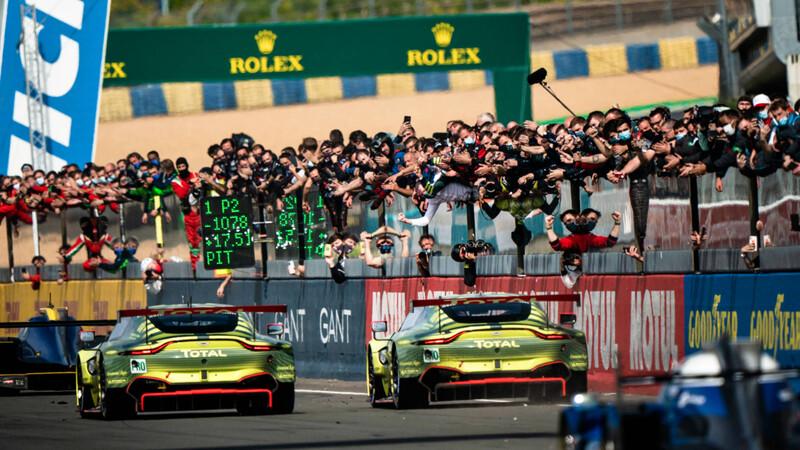 Aston Martin dice adiós las carreras de resistencia