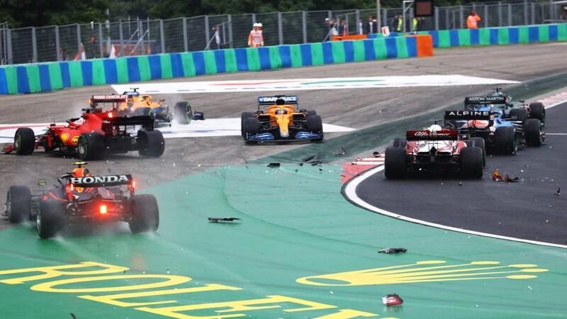 """Fórmula 1: proponen que """"quien pega paga"""" en los accidentes"""
