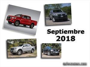 Top 10: Las pick-ups más vendidas de Argentina en septiembre de 2018