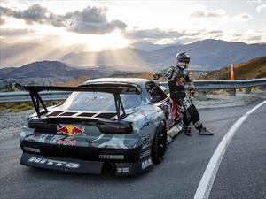 Video: Mazda RX-7 de 750hp drifteando  en el Crown Range Road