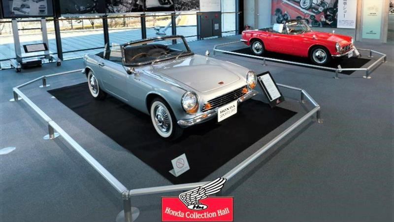 Recorre el Honda Collection Hall virtualmente