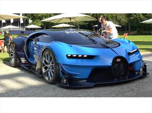 Video: Así suena el Bugatti Vision Gran Turismo Concept