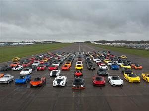 Secret Supercar Meet, un track day de ensueño