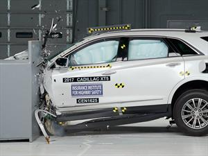 Cadillac XT5 2017 calificado con el Top Safety Pick+ del IIHS