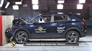 Ssangyong Korando obtiene máxima puntuación en pruebas Euro NCAP