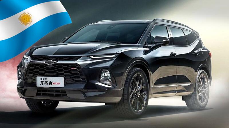 Chevrolet registra el nombre Grand Blazer en Argentina