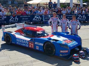 Nissan correrá en las 24 Horas de Le Mans 2015 con un auto de ¡Tracción delantera!