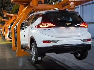 Chevrolet Bolt EV, General Motors aumenta su producción