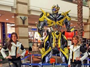 Réplica de Bumblebee en mall Alto Las Condes: Martes 14 al domingo 20 de julio