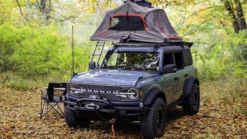 Ford Bronco Overland concept, el mejor compañero para acampar