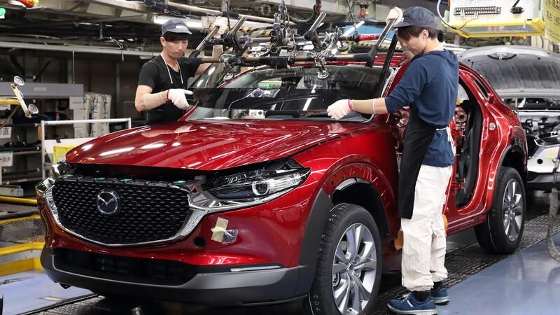 Mazda reanuda su producción al mismo nivel antes de la aparición de la pandemia