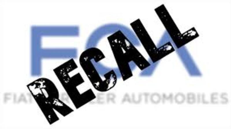 FCA podría llamar a revisión a un millón de vehículos de Jeep, Chrysler, Dodge y FIAT
