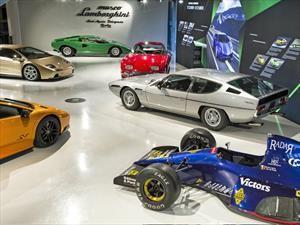 Lamborghini registra récord de visitas a su Museo en 2017