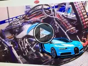 La increíble tecnología que usó Bugatti para probar el Chiron