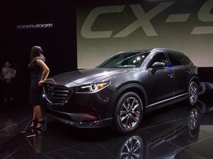 Mazda CX-9 2017, ahora con poder turbo