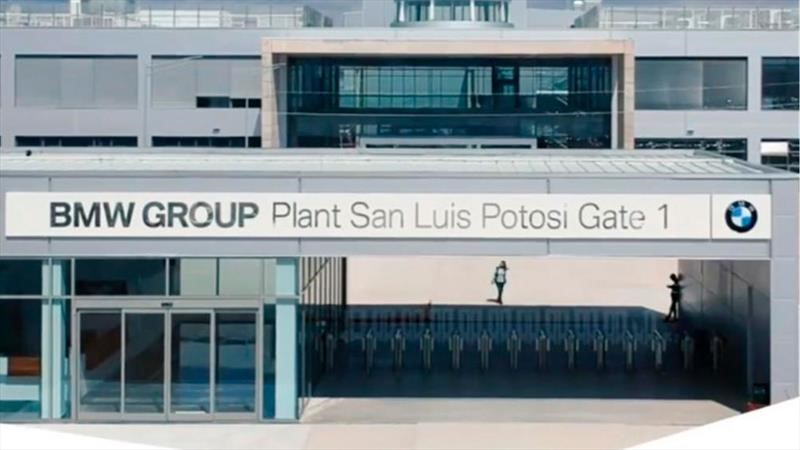 BMW reinicia operaciones en la planta de San Luis Potosí