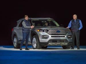 Ford Explorer muestra su gran renovación estética en el NAIAS 2019