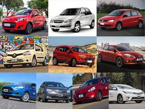 Top 10 los autos más vendidos en junio de 2014