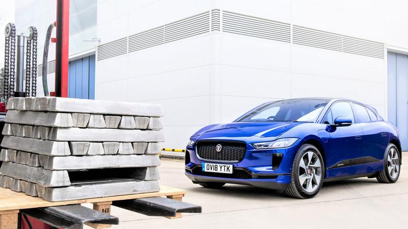 Jaguar Land Rover y su innovador proceso de reciclaje de aluminio