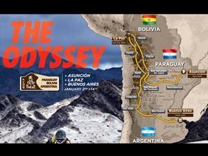 Así será el Rally Dakar 2017